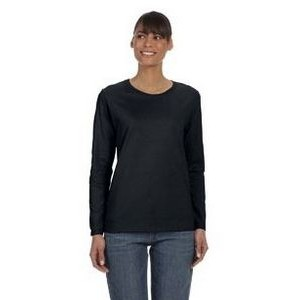 Gildan Ladies' Heavy Cotton? 8.8 oz./lin. yd. Long-Sleeve T-Shirt